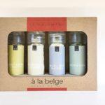 produit-A la Belge – Sel – Bloc en bois et 4 moulins